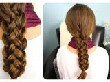 Hairstyles for Long Hair Braids Steps How to Do Cute Stacked Braids Hairstyles for Long Hair Diy