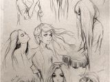 """Hairstyles for Long Hair Drawing Fantasy """"girl"""" Hair I Love This so Much Wanna Draw People with"""
