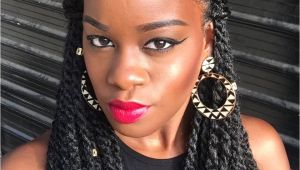 Hairstyles for Marley Braids 5 Simple yet Cute Ways to Style Marley Twists In 2018