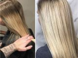 Hairstyles for Natural Blonde Hair Balayage soft Blonde Low Light Natural Blonde Hair by Kendi