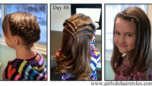 Hairstyles for Picture Day for Girls Girly Do S by Jenn Days 87 89