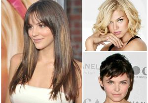 Hairstyles for Round Faces and Bangs How to Choose A Haircut that Flatters Your Face Shape