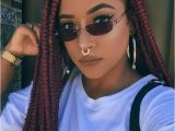 Hairstyles for Round Faces Braids Pin by Sydnee Calliste 💋👑 On Box Braids Pinterest