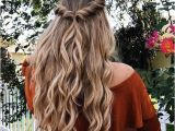 Hairstyles for School Half Up Half Down Easy Half Up Half Down Hairstyle Easy Half Up Hairstyle In 1 Min