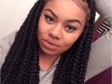 Hairstyles for School with Box Braids Big Jumbo Braids for Back to School Cute Jumbo Braids