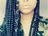 Hairstyles for School with Box Braids Individual Braids Poetic Justice Hair Styles