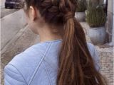 Hairstyles for School with Thick Hair Beautiful Double Braided Hairstyles 2018 for Teenage Girls