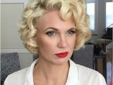"""Hairstyles for Short Blonde Curly Hair 40 Best Short Wedding Hairstyles that Make You Say """"wow """""""