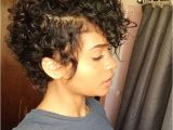 Hairstyles for Short Curly Mixed Hair 25 Best Curly Faux Hawk Ideas Pinterest