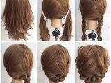 Hairstyles for Shoulder Length Hair Braids Fashionable Braid Hairstyle for Shoulder Length Hair