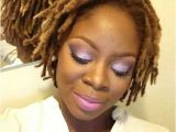 Hairstyles for Small Dreads Short Locs Colored Locs Blonde Locs Loc Styles