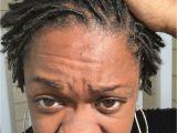 Hairstyles for Starter Dreads Baby Locs Starter Locs Shorts Locs 2nd Retwist 7 Weeks Locd