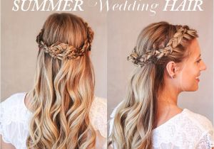 Hairstyles for Summer Wedding Guests Summer Wedding Half Up Hairstyles for Long Hair Calgary