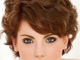 Hairstyles for Thick Curly Hair Pinterest Short Haircut for Thick Wavy Hair Side View