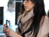 Hairstyles for Women who Wear Glasses Kim Kardashian Celebrities Wearing Glasses Pinterest