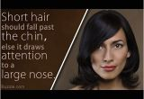 Hairstyles for Women with Long Noses Amazing Hairstyles for Women with Big Noses