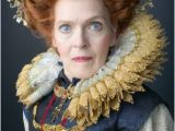 Hairstyles From the Elizabethan Era Mature Woman Wearing Elizabethan Era Queen S Costume Portrait