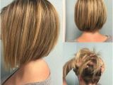 Hairstyles Graduated Bob Back View Bob Haircut with Unique Back View Make Your Hair Lightweight and