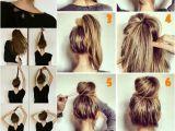 Hairstyles Half Up Half Down Bun Hair Buns top Knot Half Up Half Down Half Bun Hair