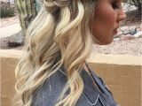 Hairstyles Half Up Half Down Casual Superb Looking for Boho Effortless and Casual Hairstyle From Prom