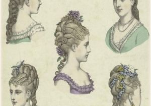 Hairstyles In the Elizabethan Era Gothic Horror Victorian Era Hair and Headdress