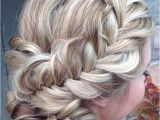Hairstyles Loose Braids A Loosely Braided with A Low Updo From Heatherchapmanhair that is