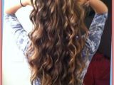 Hairstyles Loose Curls Long Hair Loose Spiral Perm for Medium Length Hair before and after