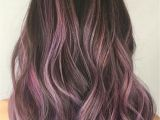 Hairstyles Pink Highlights Pink Highlights In Brown Hair Best Hairstyle Ideas