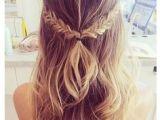 Hairstyles Plaits Down 19 Best Braided Half Up Half Down Hair Images
