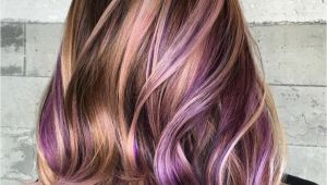 Hairstyles Purple Highlights 40 Versatile Ideas Of Purple Highlights for Blonde Brown and Red