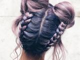 Hairstyles Space Buns Trendy Space Buns Updo Consultationlookbook Avedamadison