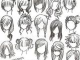Hairstyles to Draw Step by Step How to Draw Anime Hair Step by Step for Beginners Google Search