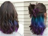 Hairstyles to Hide Dyed Tips Pin by Becca On Hair and Makeup In 2018 Pinterest