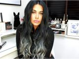Hairstyles Tutorial Videos Black to Silver Ombre Hair Luxurious Grey Ombre Hair Tutorial Foto