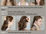 Hairstyles Tutorial Videos Diy Projects at Home How to Style Waves Pinterest