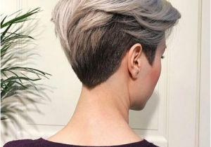 Hairstyles while Growing Out Pixie Cut V Shape Cut Ideas for Short Hairstyles 2018