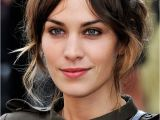 Hairstyles with Bangs Clipped Back Alexa Chung S Best Hairstyles In New Look