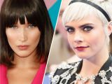 Hairstyles with Bangs Pushed Back 15 Best Hairstyles with Bangs Ideas for Haircuts with Bangs Allure