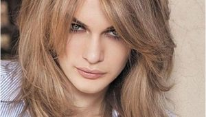 Hairstyles with Blended Bangs Shoulder Length Layered Hairstyles Womens Hairstyles