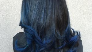 Hairstyles with Blue Dye 20 Dark Blue Hairstyles that Will Brighten Up Your Look