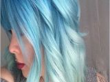 Hairstyles with Blue Dye La S Light Blue Hairs Color Lover Style