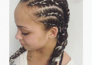 Hairstyles with Braids for Black Kids Stylish African Twist Braids Hairstyles