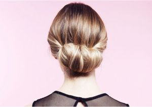 Hairstyles with Buns for Party Easy Party Hairstyles How to Do A Twisted Bun Up Do Step by Step