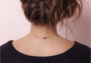 Hairstyles with Buns for Party Pretty Messy the Braided Bun Updo for Any Occasion