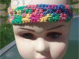 Hairstyles with Crochet Headbands Crochet Rainbow Adjustable Headband for Child or Adult