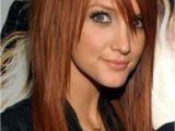 Hairstyles with Edgy Bangs ashlee Simpson S Edgy Long Hairstyle Edgylonghairstyles