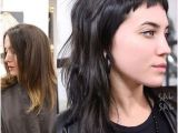 Hairstyles with Edgy Bangs before and after Modern Mullet Update Hair Styles