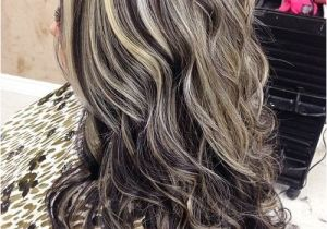Hairstyles with Gray Highlights 45 Shades Of Grey Silver and White Highlights for Eternal Youth
