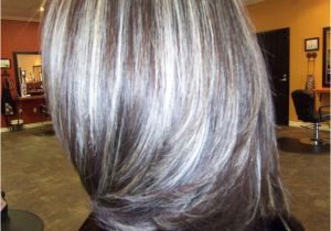 Hairstyles with Gray Highlights Pin by Sharon Hooks On My Style Pinterest