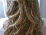 Hairstyles with Hair Down Easy Easy Thin Half Up Half Down Weddinghairstyleshalfuphalfdown